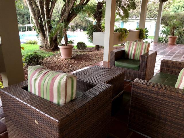 área externa hotel Deville cascavel