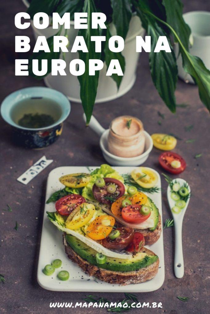 comer barato na Europa