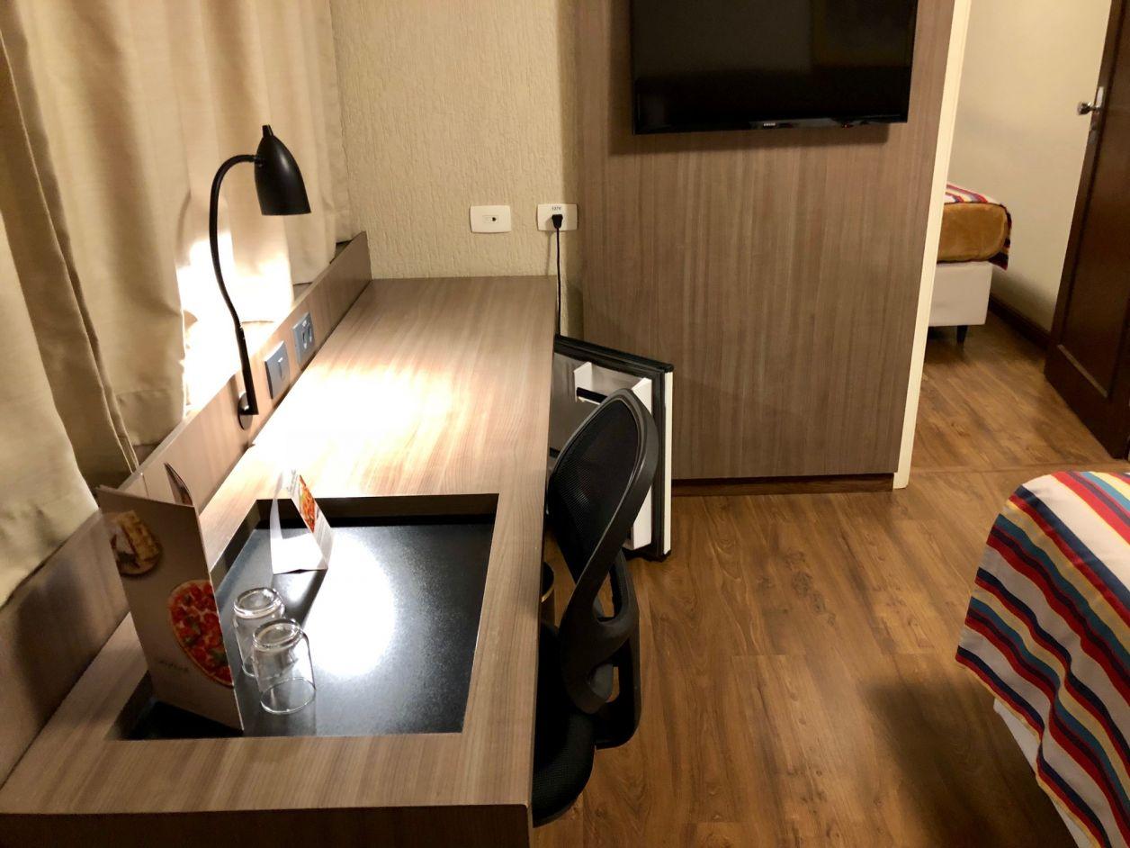 quarto hotel em cascavel