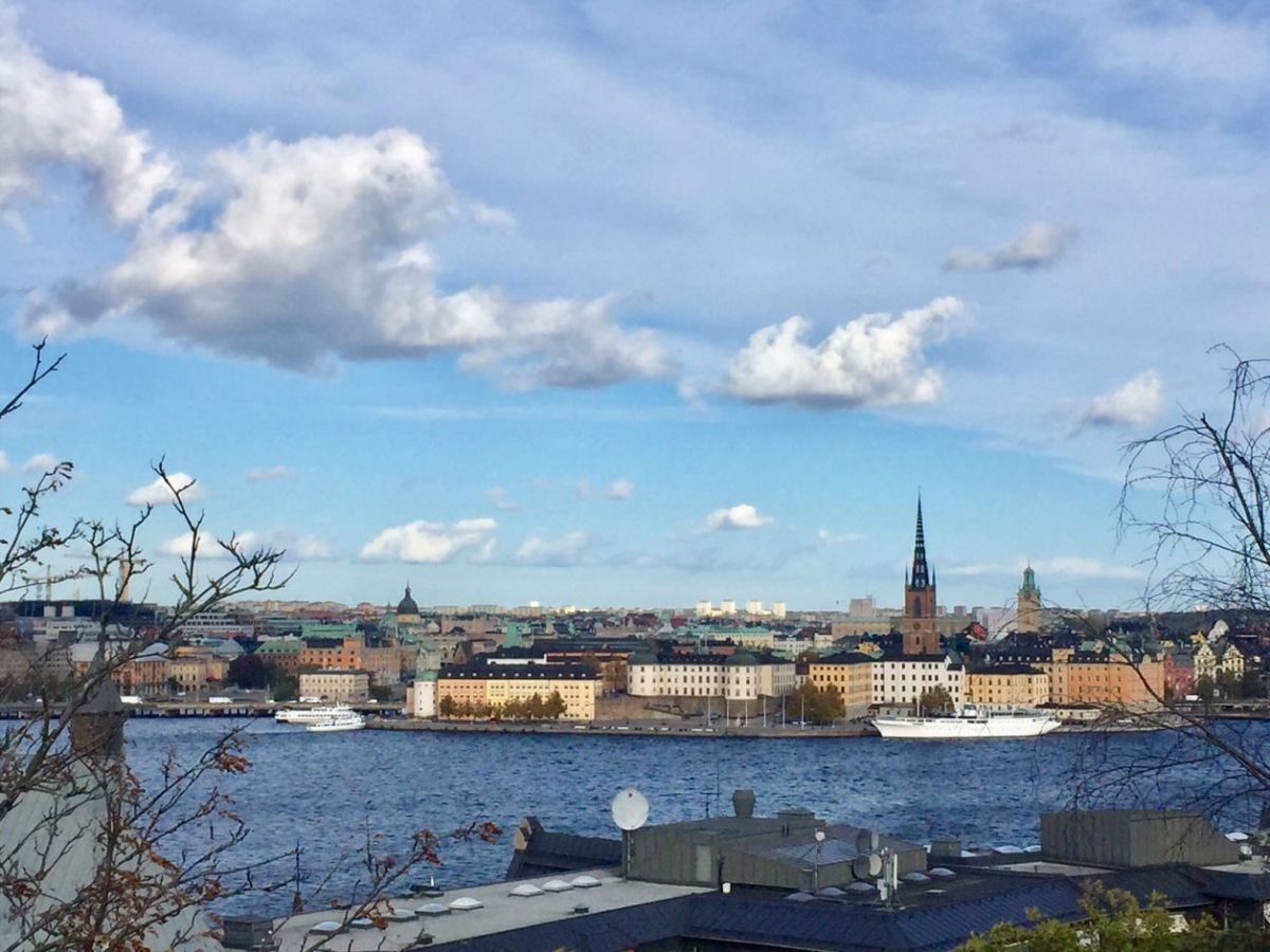 roteiro por Estocolmo