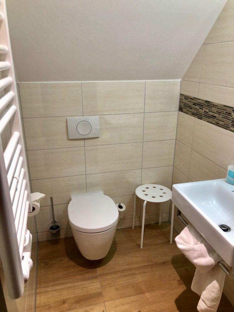 banheiro de hotel