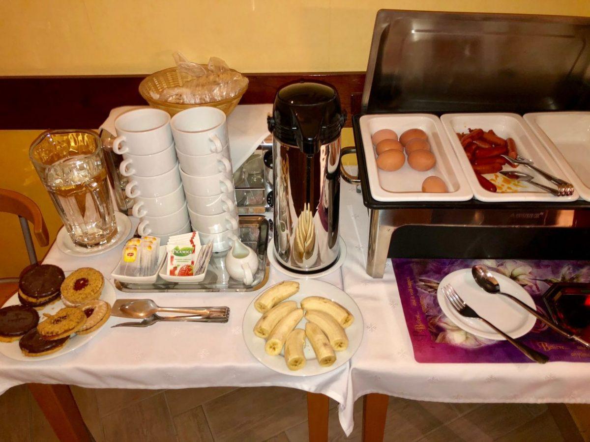 pequeno almoço hotel budapeste