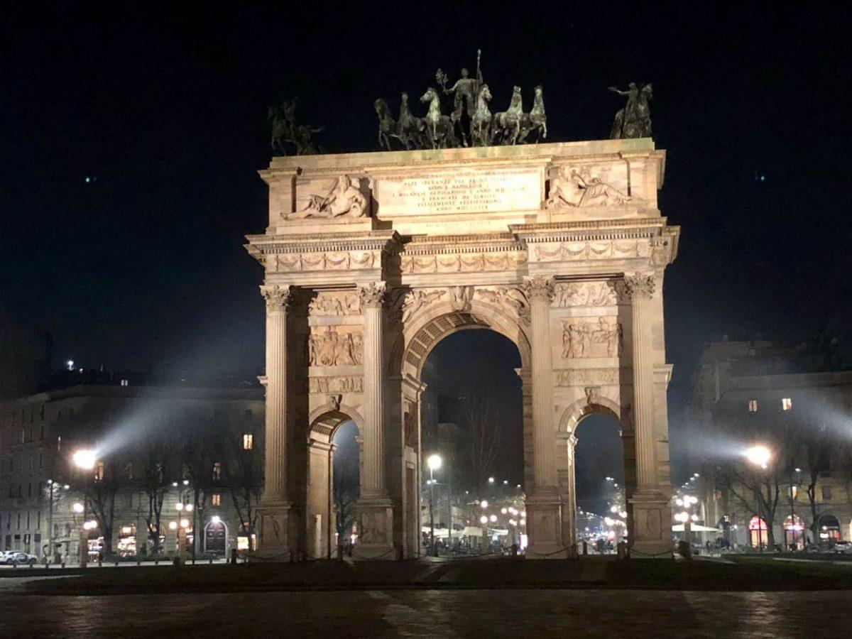 arco da paz Milao