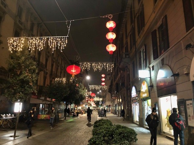 Chinatown em Milao