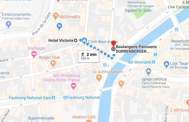 mapa de estrasburgo