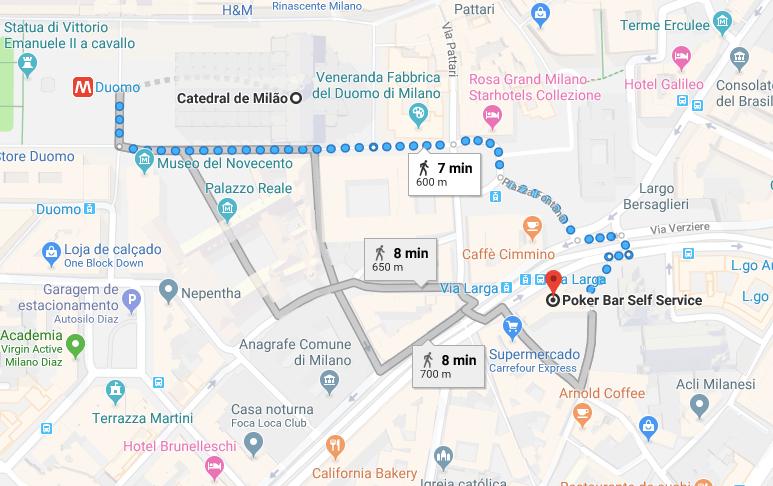 onde comer em Milao