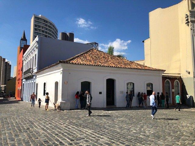setor histórico curitiba