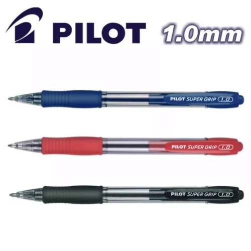 Caneta Super Grip 1.0 mm Pilot – 1UN
