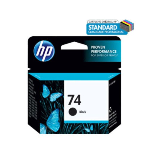 Cartucho HP 74 Preto – HP CB335WB – 5,5ml