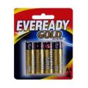 Pilha Alcalina AA C/4 Eveready Gold – 1UN