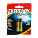 Pilha Alcalina AAA C/2 Eveready Gold – 1UN