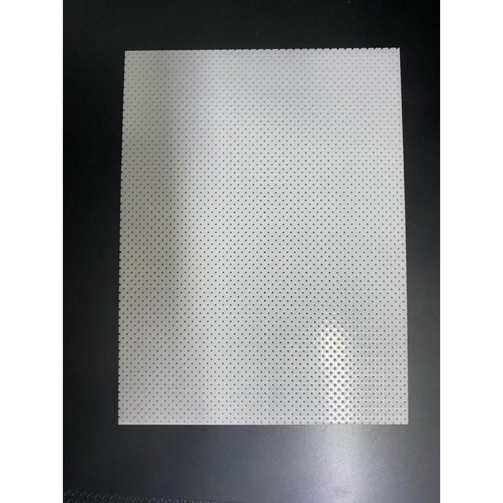 Aquaplast - Placa AQUAPLAST 20cm x 15cm x 1,6mm perfurada