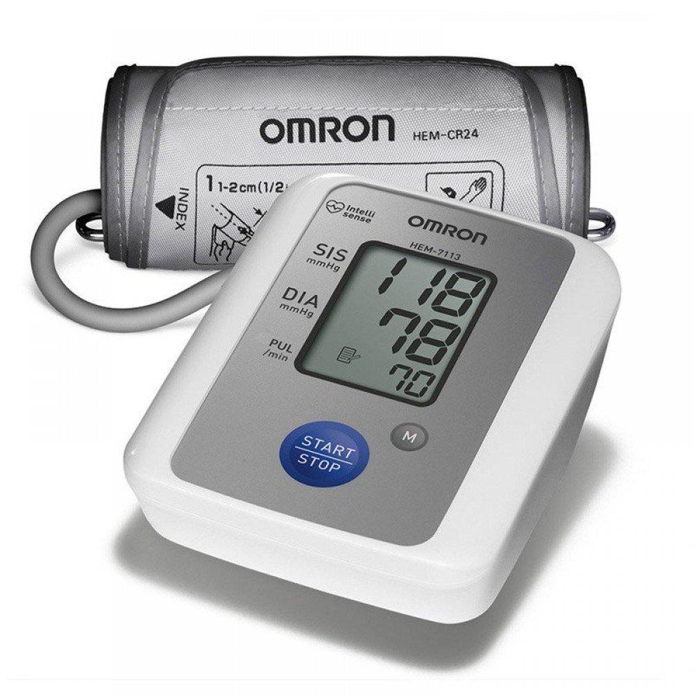 Aparelho Medidor de Pressão De Braço Digital Automático Omron HEM-7113