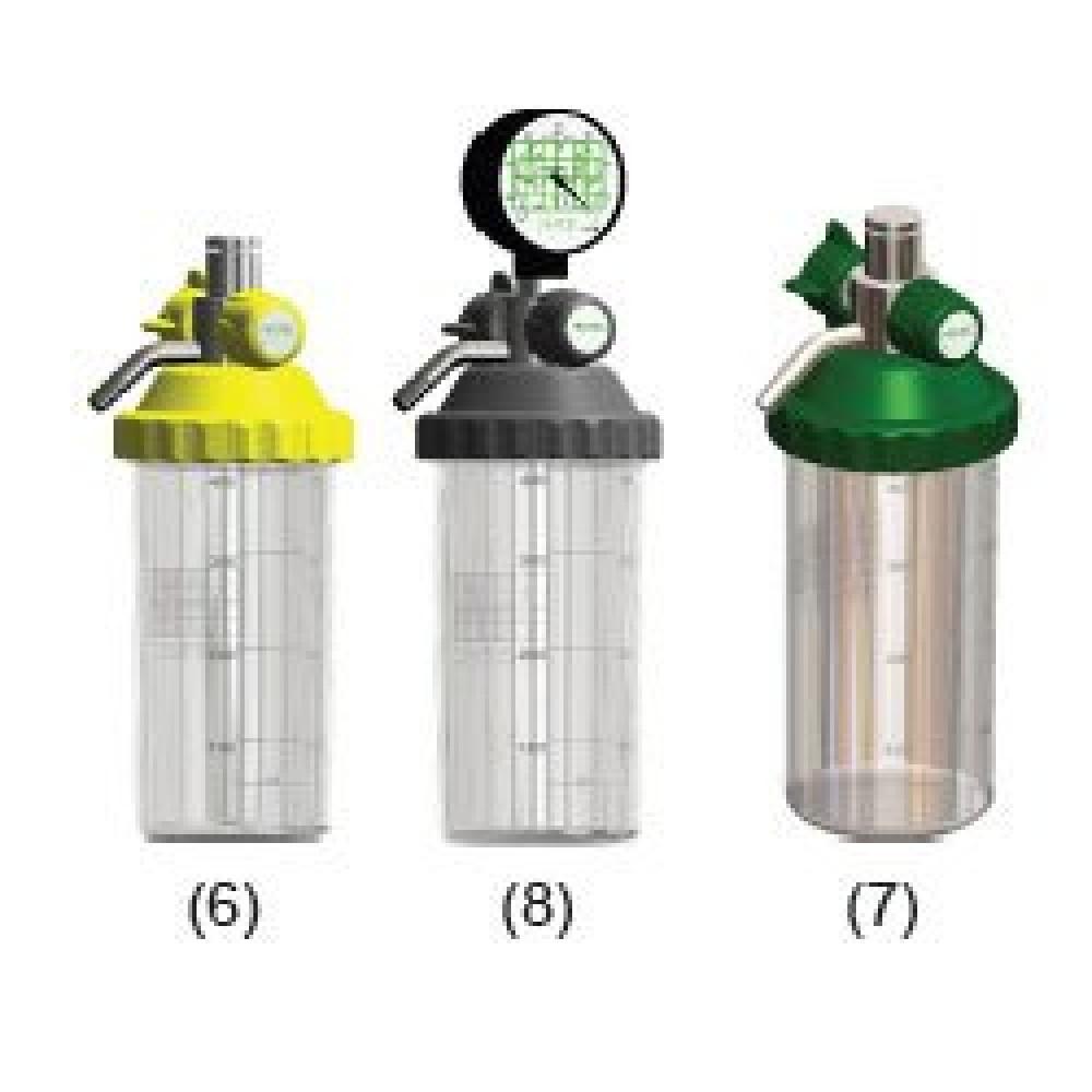 Aspiradores Venturi de Secr. Vacuômetro para Rede de Gases – Linha Master.