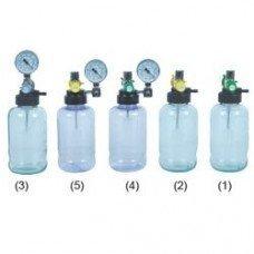 Aspiradores Venturi de Secreção Vacuômetro para Rede de Gases