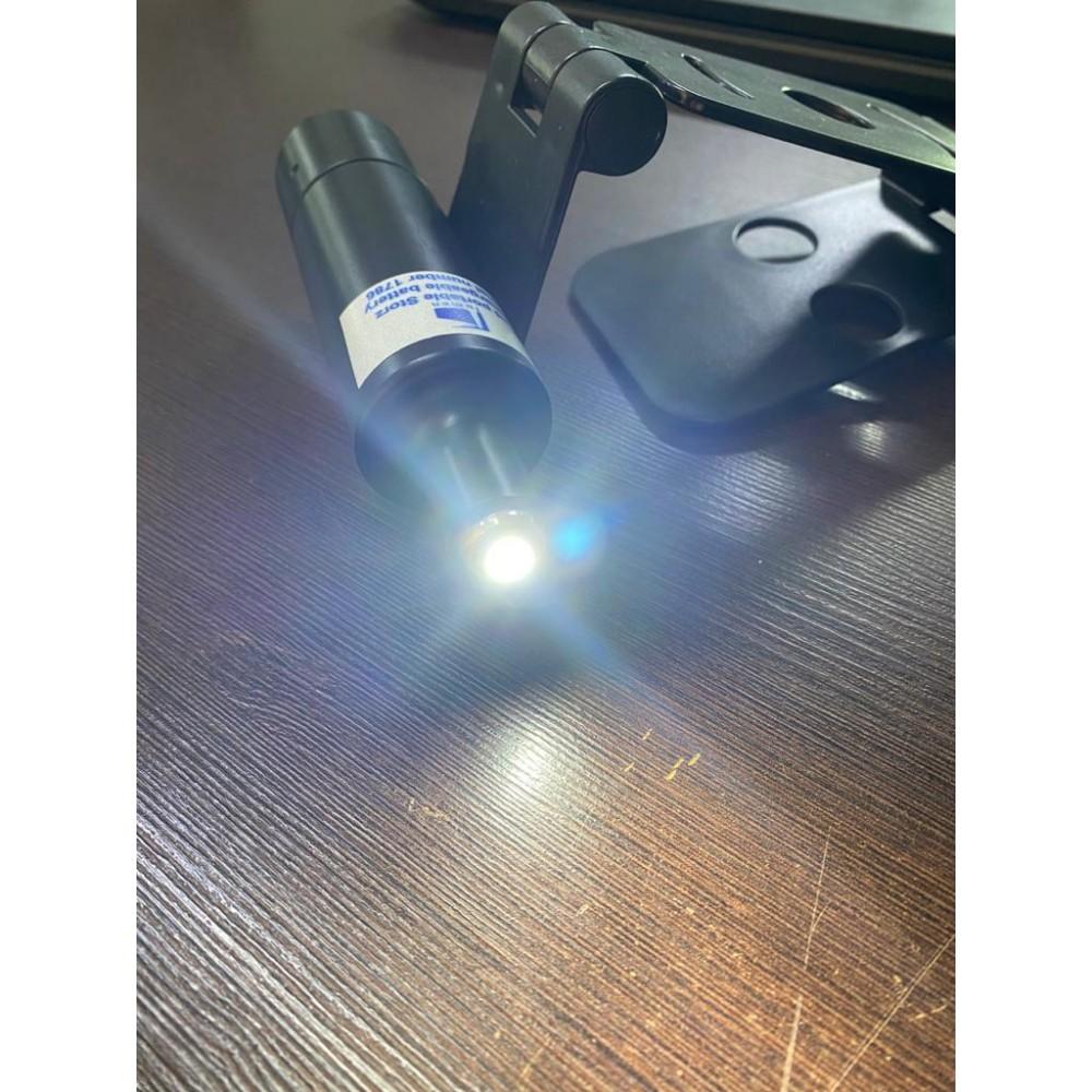 Fonte de Luz LED Portátil com  Adaptador para Nasofibroscópio