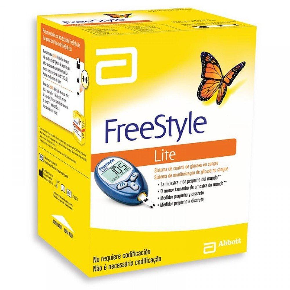 Aparelho de Minitorização Glicose no Sangue Freestyle Lite