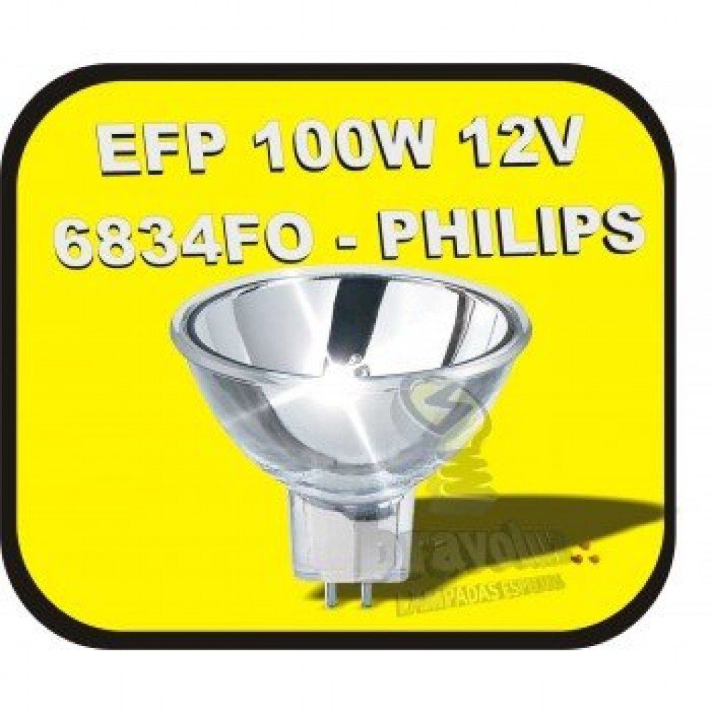 Lâmpada Philips 12V 100W 6834 FO