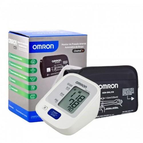 Aparelho Medidor de Pressão De Braço Digital Automático Omron HEM-7122