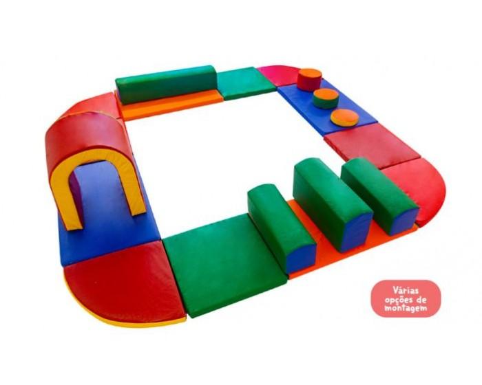Playground Espumado Circuito 1° Infância