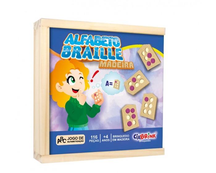 Alfabeto Braille Vazado M.D.F