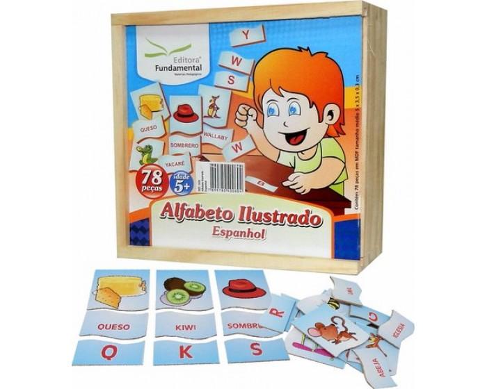 Alfabeto Ilustrado em Espanhol