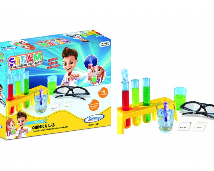 Brinquedo Educativo Steam Química Lab