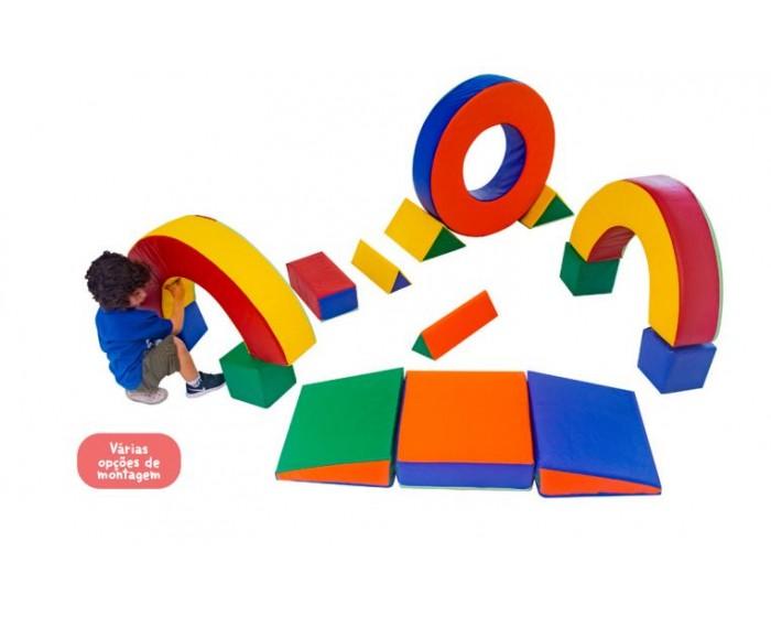 Playground Espumado Circuito de Blocos