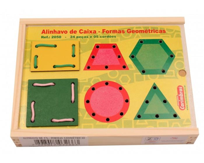 Alinhavos de Caixa-Forma Geométricas