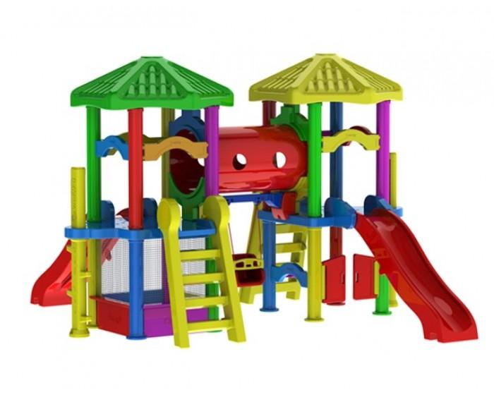 Playground Centro de Atividades Ouro( Duplo)