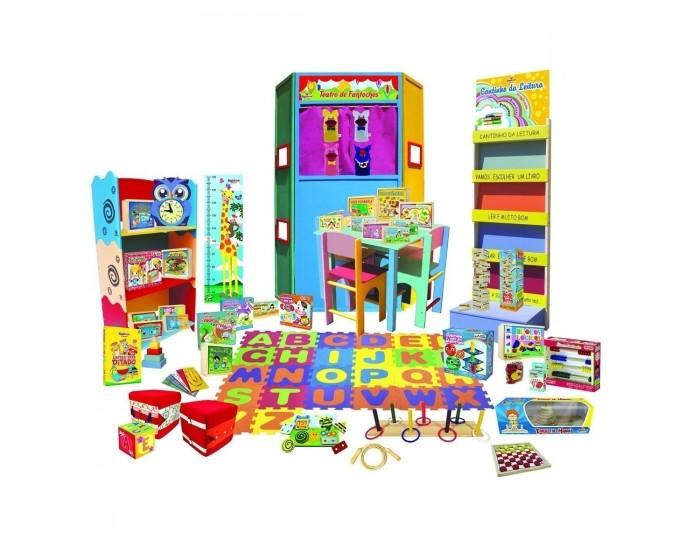 Brinquedoteca Completa com 47 Itens