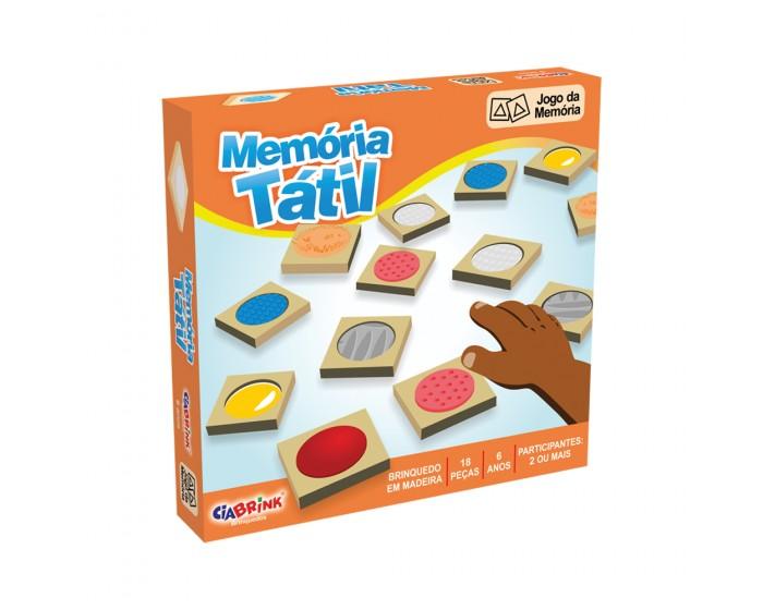 Jogo da Memória Tátil em Caixa Cartonada