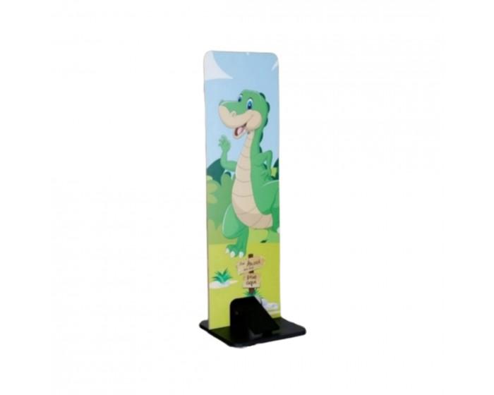 Dispenser para Álcool em Gel Dinossauro