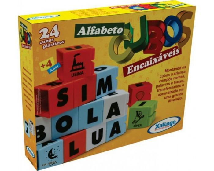 Encaixe os Cubos Alfabeto
