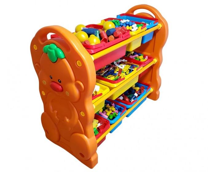 Organizador de Brinquedos de Plástico