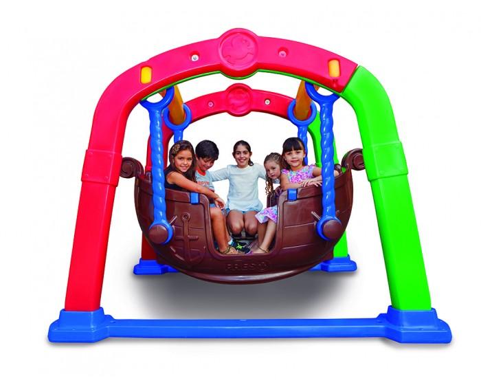 Balanço Gangorra Viking Para 4 Crianças