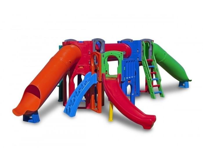 Playground Calypso com 2 Escorregadores Tubo