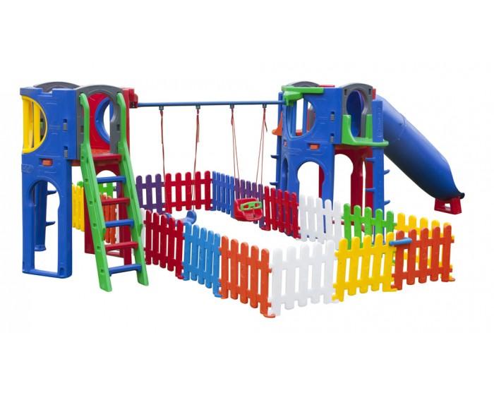 Playground Apolo Com 1 Tubo e 18 Cerquinhas