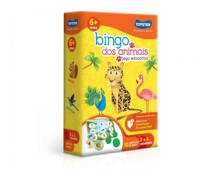 Jogo Educativo Bingo dos Animais