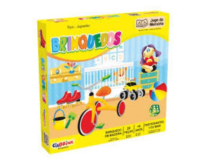 Jogo da Memória Brinquedos Caixa Cartonada
