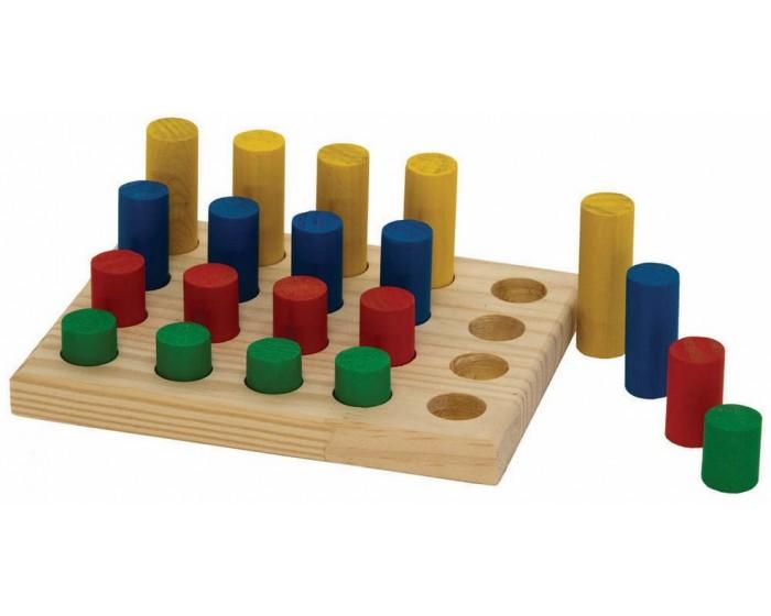 Jogo de Pinos Coloridos