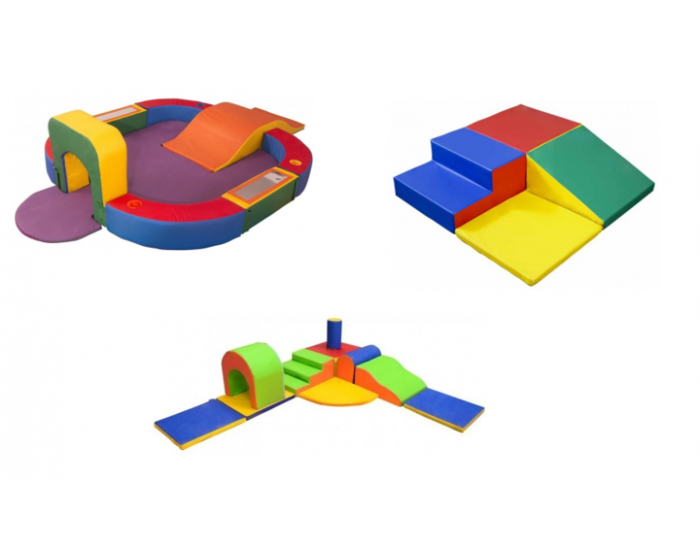 Kit Playground Espumado para Berçário