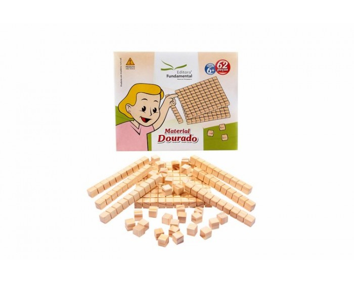 Material Dourado 62 pçs Cx (Cartonada)