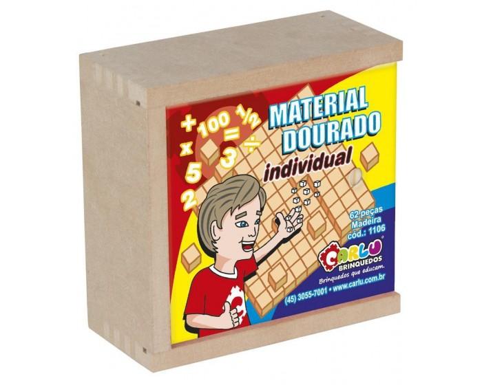 Material Dourado Individual 62 Pçs Cx Mad