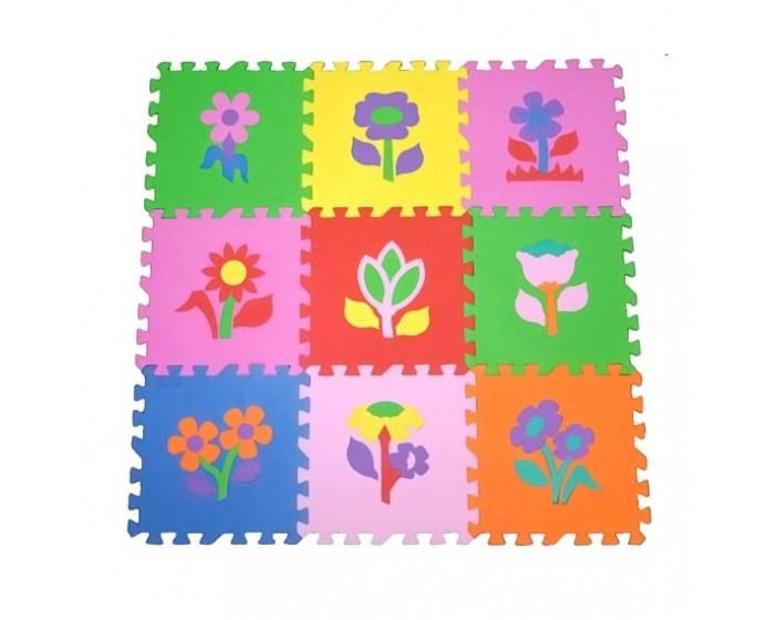 Tapete Flores 9 peças em E.V.A