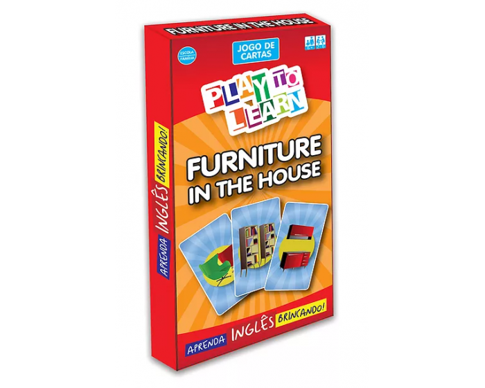 Jogo de Cartas Furniture in the House