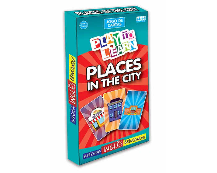Jogo de Cartas Places in the City
