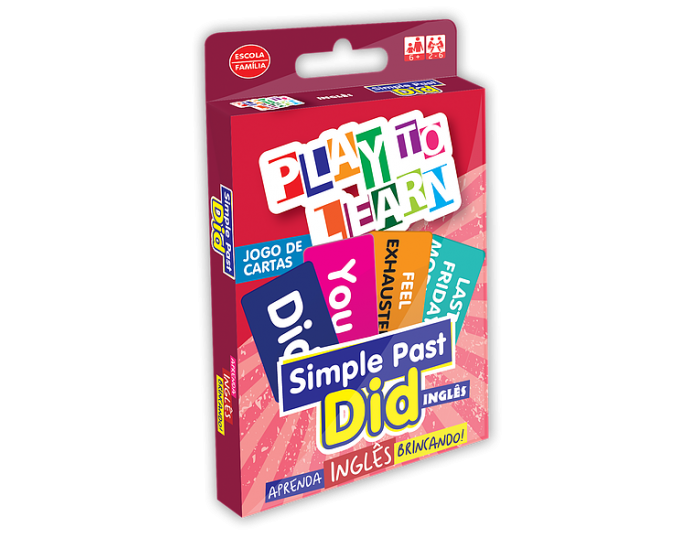 Jogo de Cartas Simple Past Did