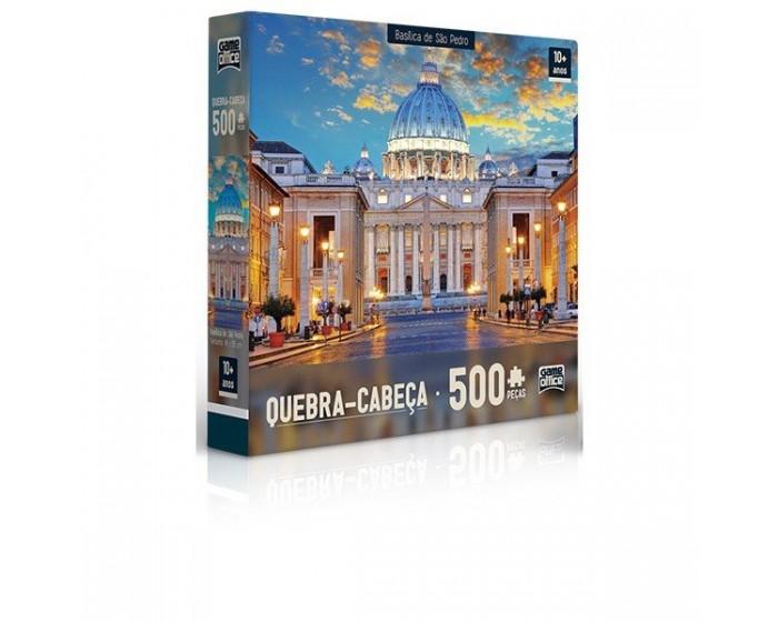 Quebra-Cabeça Basílica de São Pedro 500 Pçs