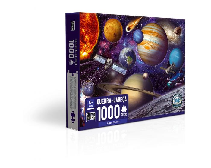 Quebra-Cabeça Viagem Cósmica 1000 Peças